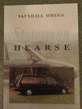Eagle Vauxhall Omega Statesman Hearse Mid-Late 1980s UK Market Foldout Brochure