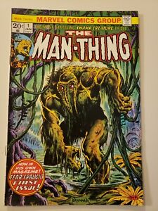 Man Thing #1. Marvel. Jan 1974. FN/VF 7.0 or HIGHER! (2nd App. Howard the Duck)