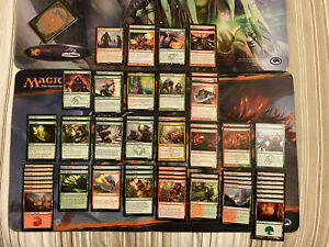 MTG Magic The Gathering 60-card R/G Fight Deck (+ sideboard)