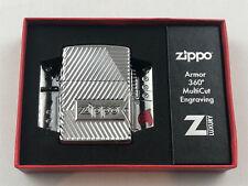 8 Zippo Armor case bolts luxury Design encendedor multicut profundidades grabado - 60004306