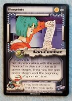 2001 Dragonball Z CCG Cell Saga #128 BLUEPRINTS Rare M/NM