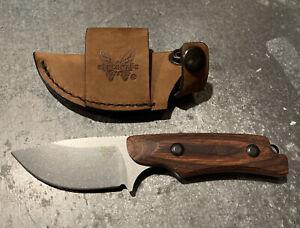 Benchmade Hidden Canyon Hunter Knife 15016-2 Wood Handle W/SheathBrand New