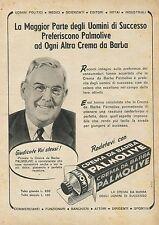 W0306 Crema da barba PALMOLIVE - Pubblicità 1954 - Advertising