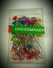 Hijab Scarf Pin | Dressmaking Pins | 50 Pins | 2.5 in / 5cm | FREE Shipping USA
