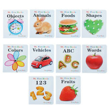 Teeny Baby Educational Baby Books Set of 10 (Multicolor)
