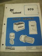 Bobcat 970 Skid Steer Loader Parts Manual