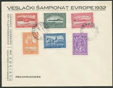More details for yugoslavia 1932 rowing championship first day cover bin price gb£15.00