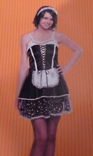 French Maid Women's Costume Size S