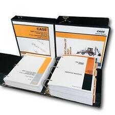 Case 580k Phase Iii 3 Loader Backhoe Service Shop Manual Parts Catalog Set Book