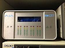 AJA Io HD- HD over FireWire, ProRes Encoding / Decoding