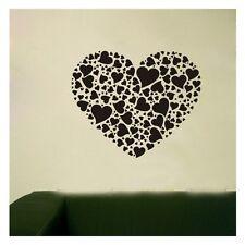 Wall Sticker Home Decor Decal Vinyl Art Mural Sweet Love Heart Pattern