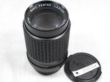 SMC PENTAX 135mm 3.5 LENS W CAPS K MOUNT EXCELLENT
