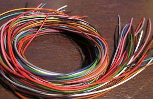 Paket mit 25 Stk Lederband 1,5 mm Lederbänder 1 m lang *viele Farben* Rindsleder