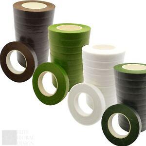 Florist Stem Tape - Floral Buttonholes Corsages Craft Floristry Wire Work