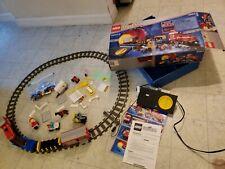 Lego, 4563 - Load N' Haul Railroad working ORIGINAL BOX INSTRUCTIONS minifigures