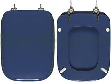 WC-Seat MADE for Ideal Standard WC CONCA series. BACKDROP BLUE. DILCONCONCABF