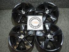 "Lexus GS GS350 GS400 18"" Factory OE Wheels BLACK POWDER COATED 18x8 18X8.5"