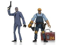 "NECA 45075 Team Fortress 2 7"" Scale Action Figure Series Blue Set of 2"