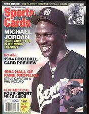 Sports Cards Magazine September 1994 Michael Jordan w/Card jhscd5