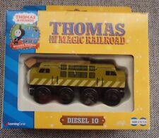 Wooden Diesel 10 Thomas the Tank Engine Magic Railroad NIP