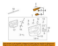 Chevrolet GM OEM 10-12 Malibu Front Door-Switch Bezel Right 20952779