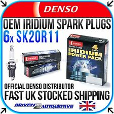 6x DENSO SK20R11 IRIDIUM SPARK PLUGS FOR ALFA ROMEO GT 3.2 GTA 11.03-09.10