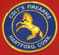COLT FIREARMS FACTORY Rampant Colt Patch 3 3/4""