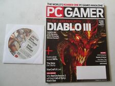PC GAMER MAGAZINE Issue Number 209 JANUARY 2011 with ALGANON CD Computer Games