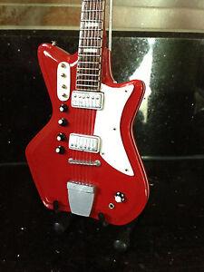 The White Stripes Jack White 1964 JB Hutto Montgomery Ward Airline Mini Guitar