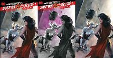 JUSTICE LEAGUE VS SUICIDE SQUAD 1 DELL OTTO ULTRA RARE VARIANT SET HARLEY QUINN