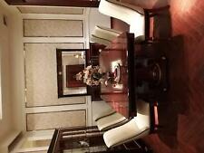 Real Mesa de Comedor + 6x Sillas Completos Mesa Comedor Silla 7tlg. Conjunto