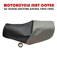MOTORCYCLE SEAT COVER SUZUKI GSX750S GSX 750 S KATANA 1984-85 & STRAP