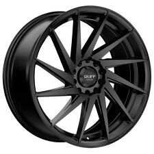 4-NEW Ruff R363 17x7.5 5x100/5x114.3 +38mm Satin Black Wheels Rims