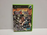 Metal Slug 4 & 5 Collection (Microsoft Xbox, 2005) TESTED Fast Shipping