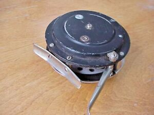 MARTIN 23A AUTOMATIC FLY FISHING REEL MOHAWK, NY WORKS GREAT-VINTAGE