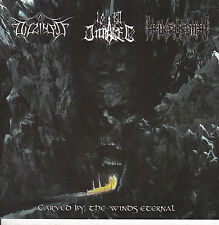 DIZZINESS/LORD IMPALER/HELL POEMER-CD-Carved by the winds eternal