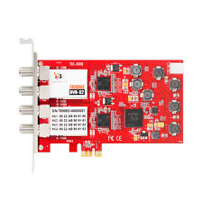 TBS6908 Professional DVB-S2 Quad Tuner PCIe Card CCM ACM VCM Multi Input Stream