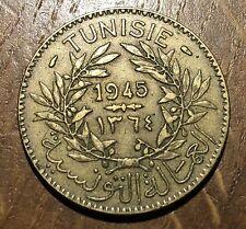 PIECE BON POUR 2 FRANCS TUNISIE 1945 (109)