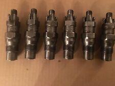 Mercedes Benz OM603 Diesel Injectors Complete Set (6) 300SDL 300SD W124 W126