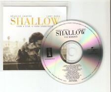 LADY GAGA & BRADLEY COOPER 'STAR IS BORN' / SHALLOW REMIXES 14 REMIX CD PROMO