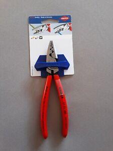 Knipex Crimpzange für Aderendhülsen Zange 180 mm 9771180