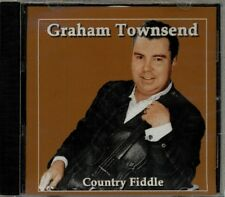 Graham Townsend - Country Fiddle  HTF Original Canadian Celtic Fiddle CD (New!)