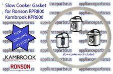 Kambrook KPR600 KPR800 & Ronson RPR800 Slow Cooker Gasket Part KPR600/10 - NEW