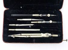 Vintage Riefler Precision Compass Drafting Draughting Drawing Set - 1877 Patent