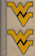 WEST VIRGINIA MOUNTAINEERS Authentic FULL SIZE Football Helmet DECALS / STICKERS
