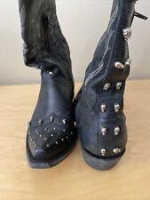 Old Gringo Mayra skull boots, 8