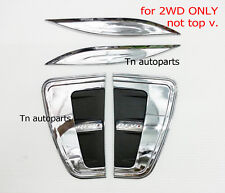 CHROME SIDE VENT COVER TRIM FOR NEW TOYOTA HILUX REVO'15 NO TOP 2WD, 4X2 PICK UP
