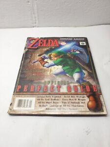 Versus Books The Legend of Zelda: Ocarina of Time Official Perfect Guide Writing