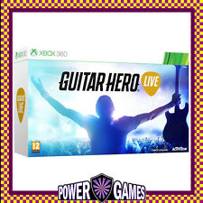 Guitar Hero Live Bundle (Microsoft Xbox 360) Brand New FREE REGISTERED POST