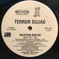 "Terror Squad ""Whatcha Gon Do"" 1999 Atlantic Records PROMO Hip Hop Single EX+"